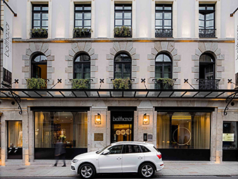 Hotel in rennes book your hotel balthazar hotel spa for Rennes boutique hotel