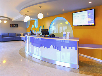 Ibis Styles Jerusalem Sheikh Jarrah is all about simplicity, freshness and youth. The hotel comprises 91 rooms and is located in the city center of Jerusalem. The hotel offers many services for young people, families, and even kids. Free public WIFI is offered in all over the hotel, which enables communication for the guests. The kids' zone, located in the reception area, enables the kids to have fun time and their families to know that their children are safe at the same time.