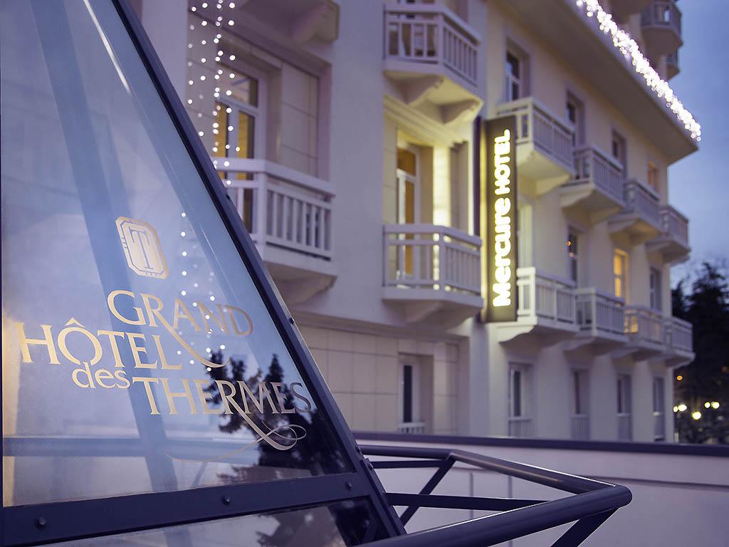 Mercure Brides Les Bains Grand Hotel des Thermes Brides les Bains