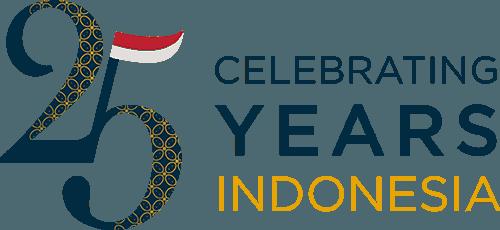 Celebrating 25 years Indonesia