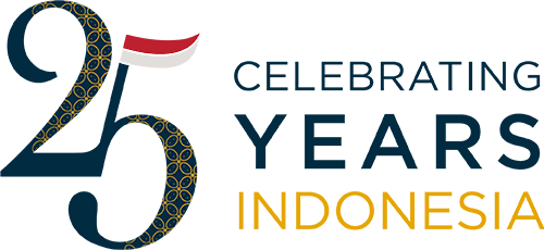 Celebrating 25 years Indonesia